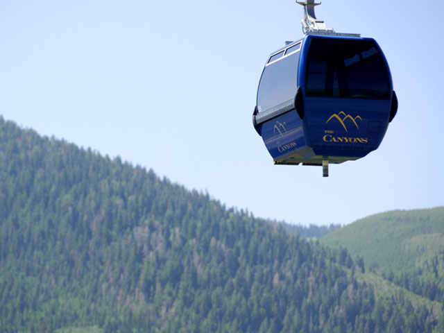 Gondola Ride The Canyons Resort