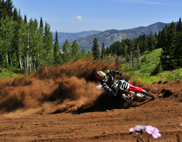 Motocross Powder Mountain Utah