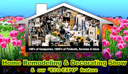 The Home Show Remodeling and Decorating Show, Demonstrations, Cooking, Expo, Sandy, Utah, South Town Center