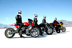 Utah Bonneville Salt Flats Motorcycle Racing, BUB Motorcycle Speed Trials, Wendover, Nevada, Utah, Motorsports
