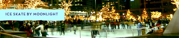 Gallivan Center's Ice Skating Rink, Salt Lake City, Utah, Downtown, Concerts, New Year's Eve Events, NYE