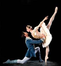Katherine Lawrence, Michael Bearden, Sleeping Beauty by Ballet West, Photo by Jesse Coss, Salt Lake City, Utah, Capitol Theatre, Ballet