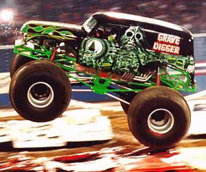 Monster Trucks, Auto Show, Car Show, Grave Digger