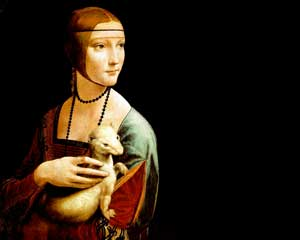Lady with an Ermine, Leonardo da Vinci