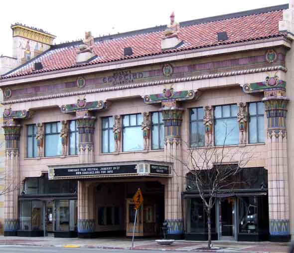 Peery's Egyptian Theater is a historical 1920s movie palace fully restored