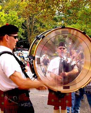 Scottish Drumming and Bagpipes