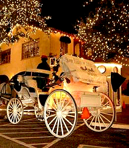 Holiday Christmas Carriage Rides Free Utah