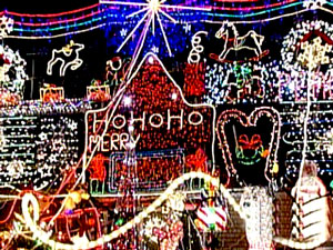 Holiday Light Exhibit, Christmas Lights, Winder Dairy, Utah