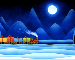 North Pole Express Christmas Train, Heber Utah, Holidays, Children's Activities