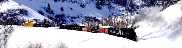 Train Ride, Sleigh Ride and a Cowboy, Poet, Heber Utah, Heber Creeper, Provo Canyon, Winter Activities