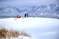Daybreak Snow Sledding, South Jordan, Utah, Salt Lake County, Family, Tubing, FREE
