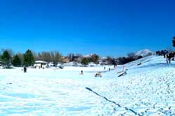 Snow Tubing & Sledding at Murray Park, Utah, Free, Children's Activities, Stuff to do, Winter Activities, Family, Fun