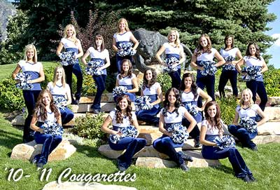 BYU Cougarettes, Brigham Young University, Dance Team, Cheerleaders, Provo, Utah, LDS, Mormons, Covey Arts Center