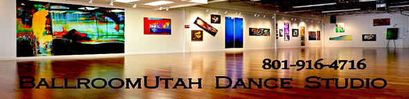 Ballroom Utah Dance Studio, Art Studio, Zumba, Latin Dancing, Social Dancing, Weight Loss, Exercise, Salt Lake City, Utah