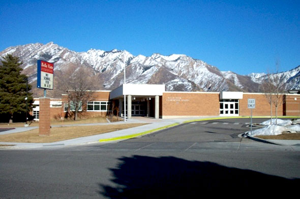 Bella Vista Elementary School, Cottonwood Heights, Salt Lake City, Utah, Winter Activities, Snow Sledding, Tubing, Children, Teens