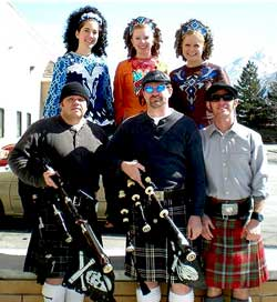 Heathen Highlanders with Crawford Irish Dancers, Bagpipes, Irish Music, Celtic Dancing, Highland Dancing, Piper Down Pub, Salt Lake City, Utah
