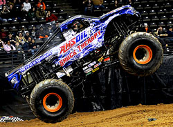 Monster Trucks Winter Nationals, Maverik Center, West Valley, Utah, Motorsports, Sports, Auto Racing