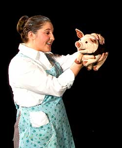 Babe, The Sheep Pig, BYU Arts Department, Brigham Young University Theatre, Theater, Utah County, Children's Activities, Family