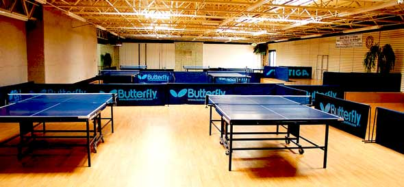 Table Tennis Training & Event Center, West Valley City, Utah, Ping Pong, Tournaments, Championships, Leagues, Clubs