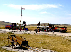 Golden Spike Historical Site, Railroad, Trains, Utah