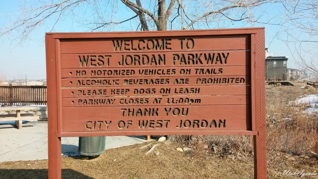 Jordan River Parkway Trail - 7800 S to 6500 S - West Jordan, Utah