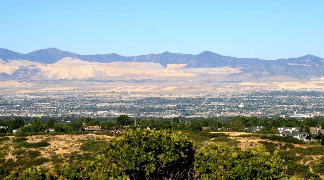 Bell Canyon Trail, Sandy, Utah, City View