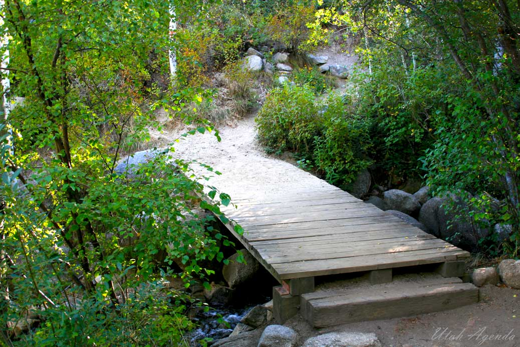 Bell Canyon Trail, Creek, Bridge, Sandy, Utah